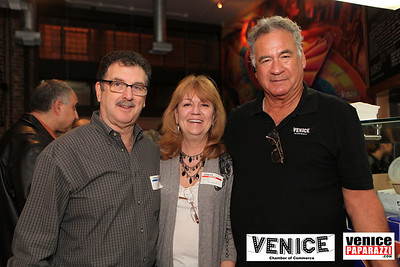 Casalinda's Don Novack, Argonaut's Lynne Adelman and Venice Beach Walking Tour's Jeffrey Solomon