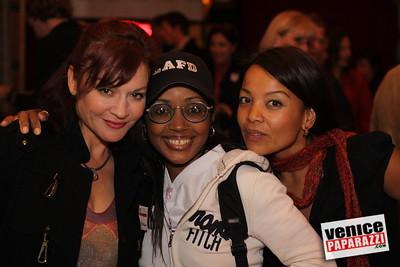 Jill Morley, Gisele Rebeiro and Edizen Stowell  www shootingninjas com  www partybyfive com www venicepaparazzi com
