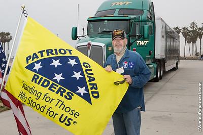 The Traveling Vietnam Veterans Memorial Wal.  Venice, California.    www.VeniceChamber.net.  www.vvmf.org.  © www.VenicePaparazzi.com
