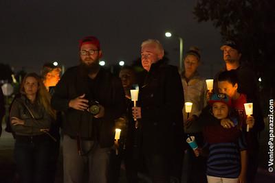 06.13.16 Orlando Strong Candlelight Vigil in Venice, California.  #OrlandoStrong #VenicePride #LAPride Photo by Venice Paparazzi.  www.VenicePaparazzi.com
