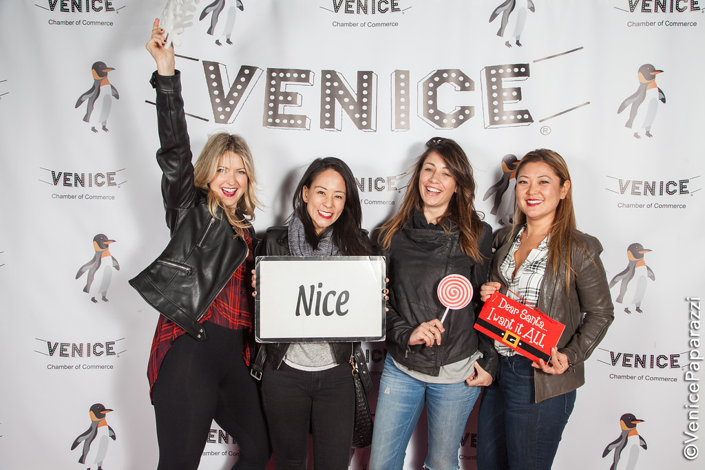 The 5th Annual Venice Holiday Sign Lighting.  Hosted by www.VeniceChamber.net.  Photo by www.VenicePaparazzi.com