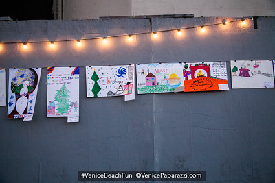 4th Venice Sign Holiday Lighting.  Dec 4, 2015. www.VeniceChamber.net.  © www.VenicePaparazzi.com