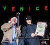 "The 5th Annual Venice Holiday Sign Lighting.  Hosted by  <a href=""http://www.VeniceChamber.net"">http://www.VeniceChamber.net</a>.  Photo by  <a href=""http://www.VenicePaparazzi.com"">http://www.VenicePaparazzi.com</a>"