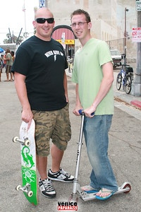 Meet the coastal clean up crew  Chris and Alex every Sat  at 3pm at the Venice Structure