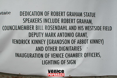 Awards, Recognition and the lighting of the Venice Sign (1)