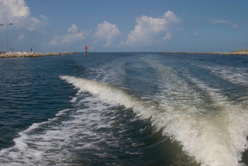 The Jetties, Venice Island on the left and Nokomis on the right.