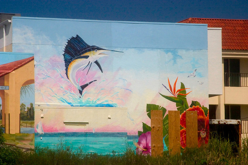 #2 Venice Island is very famous for it's many murals. These are my favorates.