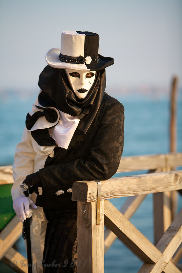 Not all Black and White, Carnevale di Venezia