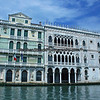 Interesting building fascades and architectural details found along the Grand Canal in Venice, Italy.