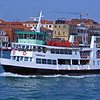 Ferryboat,  Grand Canal,  Venice, Italy.