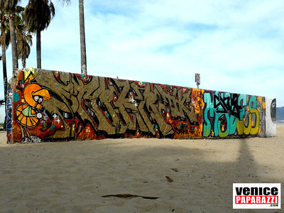 02.22.10 VENICE PUBLIC ART WALL PHOTOS. Visit the Venice Public Art Walls, a.k.a. Venice Graffiti Walls. For more information visit,http://www.veniceartwalls.comhttp://www.icuart.com. Photo by Venice Paparazzi.http://www.venicepaparazzi.com