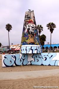 Visit the walls. Venice Public Art Walls. 1800 Ocean Front Walk. Venice, California 90291. For more information, visit http://www.veniceartwalls.com or http://www.icuart.com. Photos by http://www.venicepaparazzi.com
