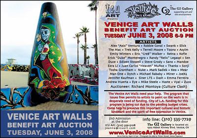 0 Visit the Venice Public Art Walls, a.k.a. Venice Graffiti Walls. For more information visit, www.veniceartwalls.com www.icuart.com.  Photo by Venice Paparazzi.  www.venicepaparazzi.com
