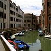 Canal in Ghetto Novo, Cannaregio.