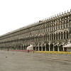 Piazza San Marco, empty in the early morning.