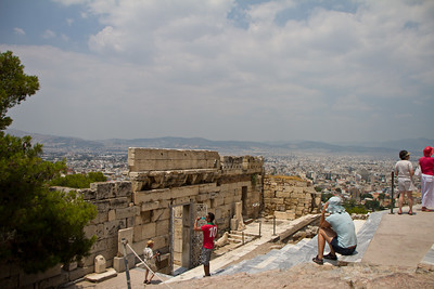 Athens Below Acropolis