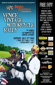 Venice MC Rally-Poster