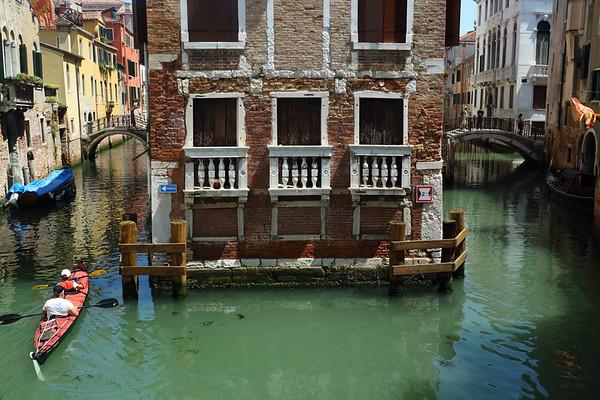 A Kayak In Venice!
