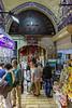 Entering the Old Bazaar, the walkways get narrower.