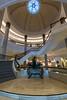 Lobby stairs of the Conrad Bosphorus.