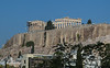 Some old buildings ;-) - The Parthenon sits on top of the Acropolis.