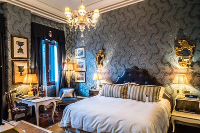 Guest room at The Gritti Palace in Venice, Italy