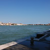 The view from the quiet shores of Giudecca island looking over to the madness which is San Marco