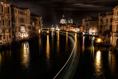 Accademia Night View, Venice