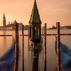 Shrine by the gondolas in Venice