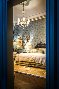 A peek at the guest room at The Gritti Palace in Venice, Italy