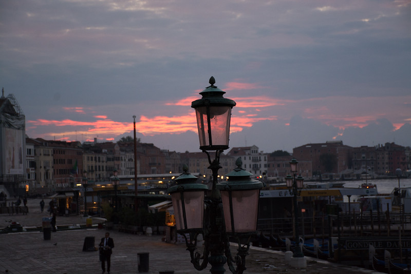 Riva Degli Schiavoni at sunrise