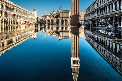 Reflection at Piazza San Marco