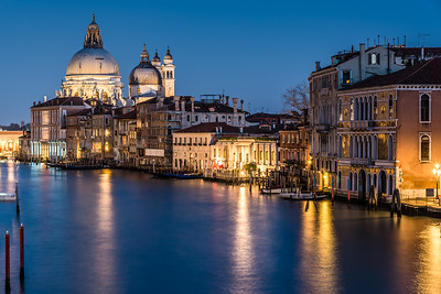 View of the Grand Canal from Accademia SX