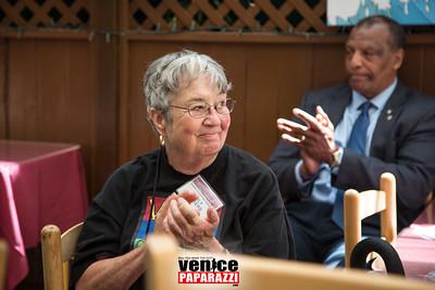 Venice Japanese American Memorial Marker Fundraiser at Hama Sushi.  www.venicejamm.org.  Photo by www.VenicePaparazzi.com