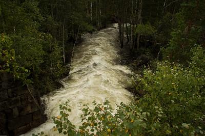 Oversvømmelse ved  Paulen