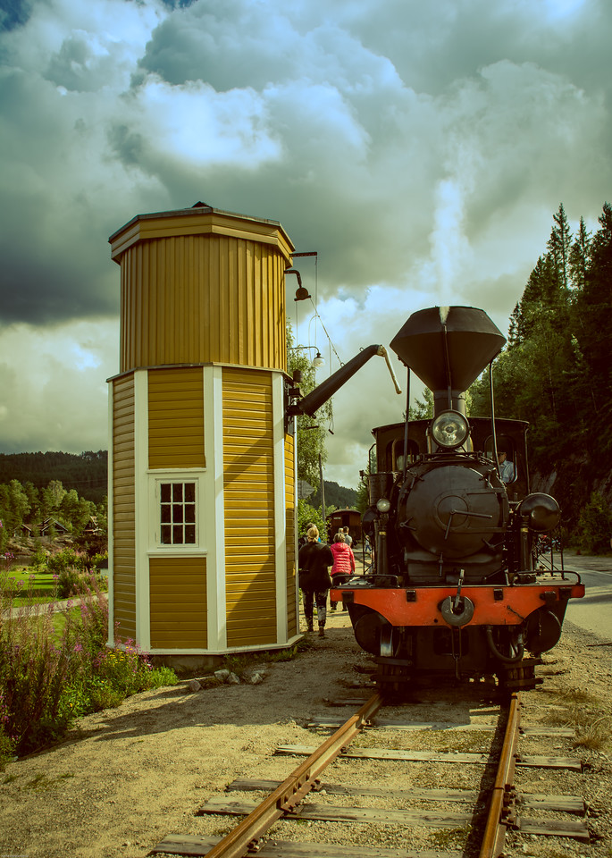 Vanntårnet på Røyknes