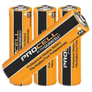 4 AA Duracell ProCell Batteries
