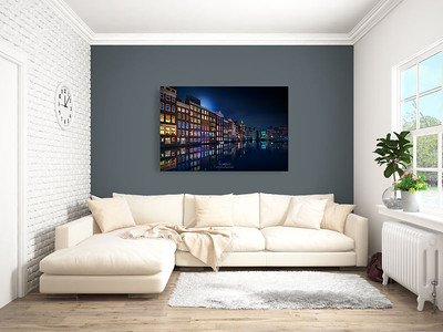 63551688 - bright interior with sofa in a modern style . 3d rendering