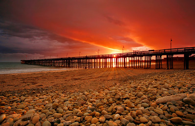 Storm sunset over Ventura Pier 01_4235_v6