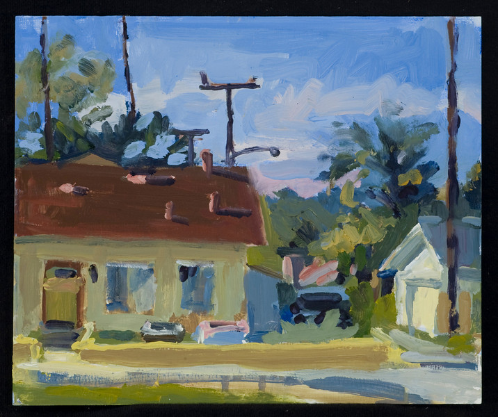 Ventura, 2011, 9x10, oil on panel