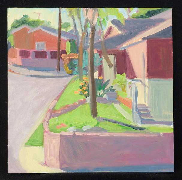 """Ventura, 10x10"""", oil on panel, 2011"""