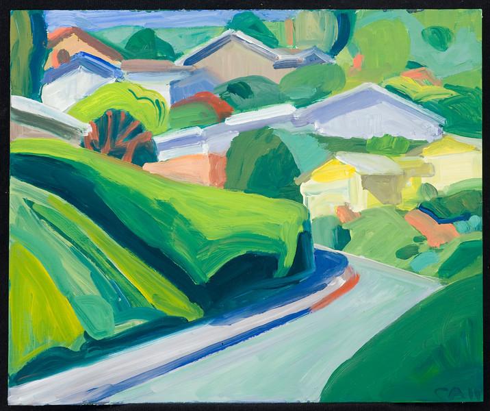 """Ventura, 8x10"""", oil on panel, 2011"""