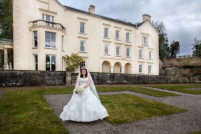 Aberglasney Gardens Wedding Photos