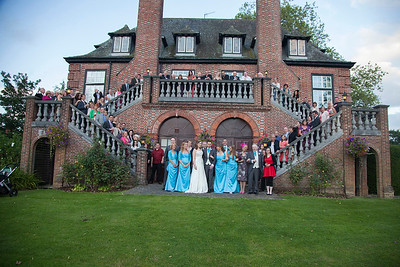 Llansantfraed Court Wedding Photos