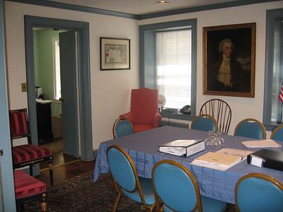 2nd floor conference room (left side), suitable for green room (except no bathroom)