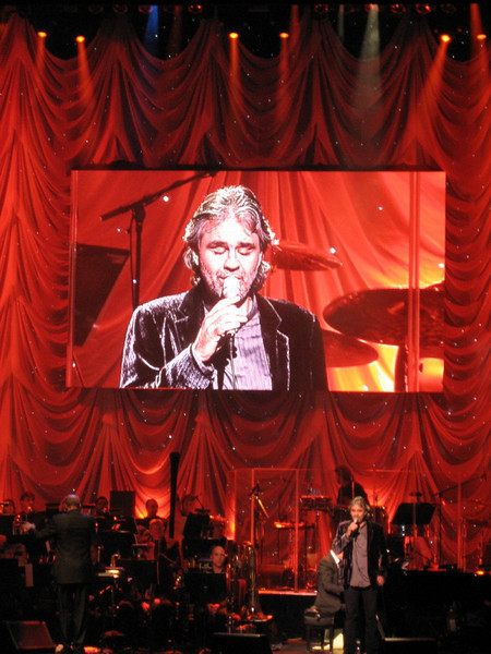 "Andrea Bocelli ""David Foster and Friends Charity Gala"" with the Toronto Symphony Orchestra"