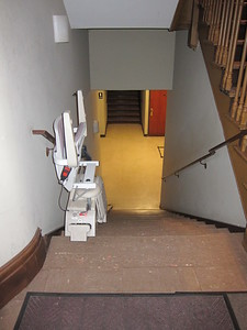 Holy Trinity Lutheran Church_65 & CPW (15)_stair lift to basement from 65th