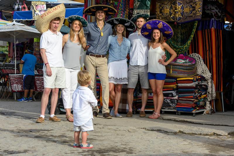 Family photoshoot in Puerto Vallarta
