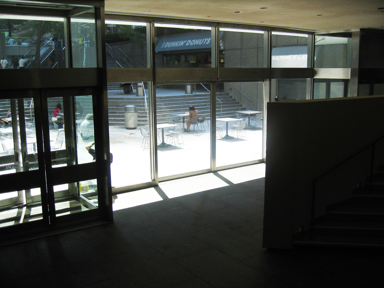 Double glass doors leading from Sanctuary to outdoor Citicorp plaza. & St Peteru0027s Church - GEMSNY pezcame.com