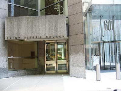 Lexington Avenue entrance, not for use by concert patrons